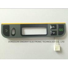 4 botones con circuito de circuito impreso