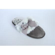 Zapatillas de interior de las mujeres con bowknot
