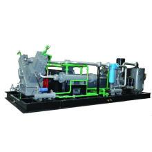 Compresor de aire de alta presión con combinación de refuerzo de tornillo y pistón (KSP132 / 90-30)