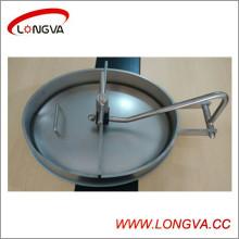 Couvercles elliptiques en acier inoxydable