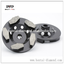 Hexogan segment diamond cup wheel for grinding concrete floor