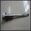 Peças de aço personalizadas, cnc usinagem de peças de aço de moagem fabricante