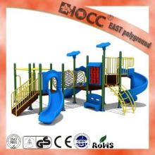 Small Size Roof Outdoor Kindergarten Playground