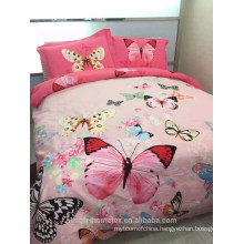 100% polyester disperse printed microfiber fabric for bedding sheet with good quality on sale