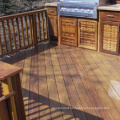 Natural Solid Wood Decking for Outdoor Court