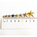 Eco-Friendly Brass Nailheads Star Shape