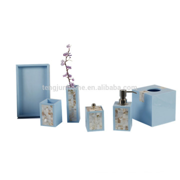 2016 Hot-sale Luxury MOP Bathroom Sets for Home & Hotel