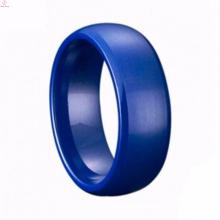 Fancy Engagement Wedding Light Ceramic Ring Jewelry For Men