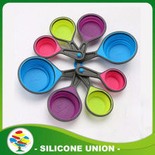 Wholesale 4 Piece Non-stick Silicone Measuring Spoons