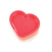 Molde bonito do bolo de silicone do coração de LFGB