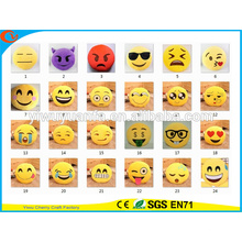 Hot Selling High Quality Novelty Design Emoji Facial Expression Plush Pillow