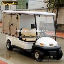 electric golf car with storage box