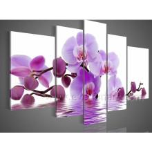 Moderne Wohndekor Schöne Blumenmalerei (FL5-045)