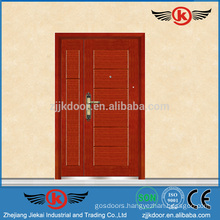 JK-A9051 Main Gate Designs In Wood For Deluxe House