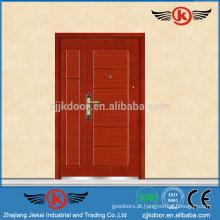 Projetos de porta de entrada JK-A9051Steel para casas
