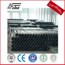 Poste de acero de la energía eléctrica, poste de la galvanización, poste de acero del polígono