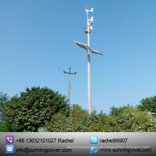 Turbinas de viento 300W sistema de monitoreo