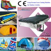Large Laser Cutting Machine for Sail, Tent, Inflatable Toys (CJG-210600)