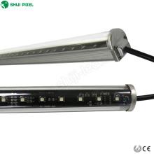 Venda quente 48leds / m 24 v endereçável 50 polegada dmx revestido levou barra de luz