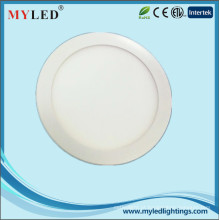 6 polegadas 12w tampa de alumínio CE RoHS recessed slim LED painel de luz LED Downlight