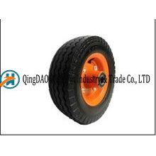 6 * 2 solides roues de poussette de bébé de mousse de polyuréthane fabriquées en Chine
