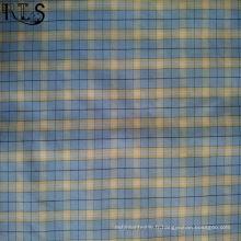 Tissu 100% tissé par fil de Poplin de coton teint pour des chemises / Dress Rls40-35po