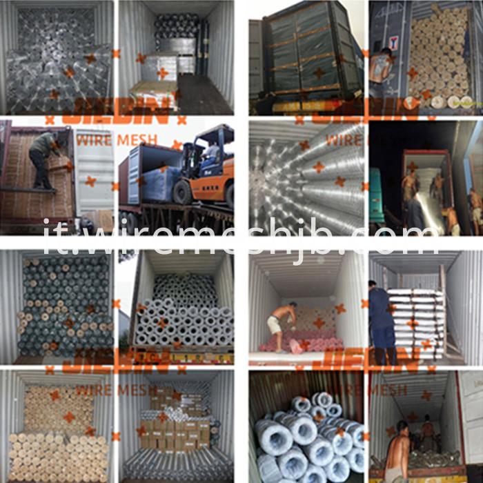 Galvanized Weld Wire Panels