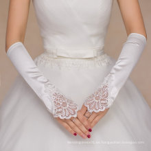 Aoliweiya Accesorios para la boda Guante nupcial