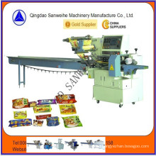 High Speed Servo Motor Driving Automatic Packaging Machine (SWSF-450)