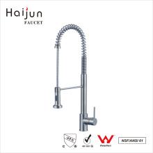 Haijun Wenzhou ISO 9001: 2008 sola manija de cerámica caliente grifo de agua de cocina grifo