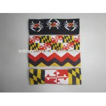 Bandeau élastique en polyester coloré et adulte