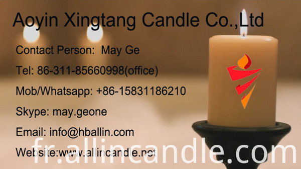 color stick candle for home use