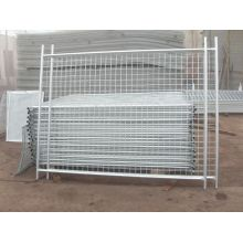 2.4x2.1m size temporary fence