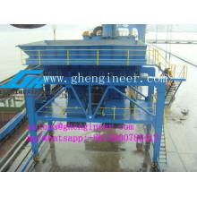 Tipo de carril Tolva móvil en el puerto para el material a granel