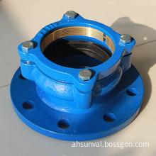 Ductile Iron Flange Adaptor for PE Pipe (DN50-DN300)