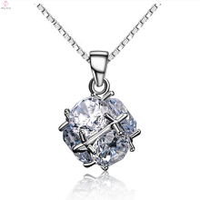 Fashion 925 Sterling Silver Zircon Pendant Jewelry