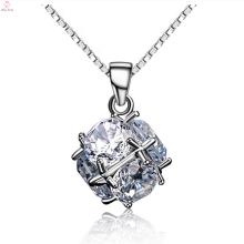 Мода Стерлингового Серебра 925 Циркон Кулон Ювелирные Изделия