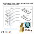 depilación 808 diodo láser 100 w diodo láser para el uso de la depilación láser