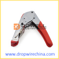 F Compression Connector Crimping Tool With Handle Lock