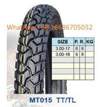 Motorcycle Tyre/Motorcycle Tire 3.00-17, 3.00-18. Popular Pattern