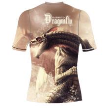 Impactante camiseta sublimado Full Rash Guard