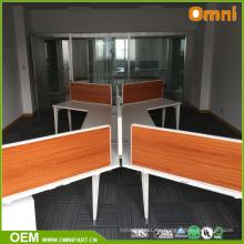 2017 Moderne und modische Büromöbel Schreibtisch für vier Personen
