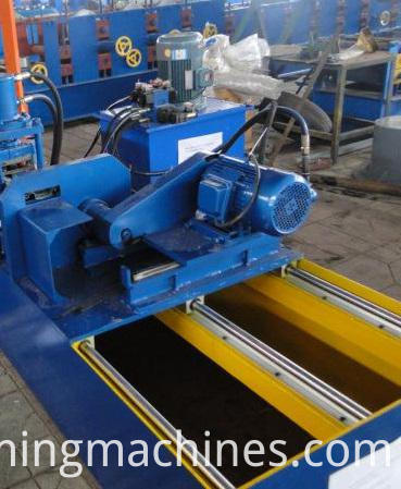 Shutter Roll Forming Machine-shearing system