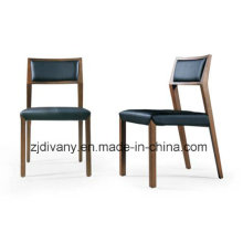 Modern European Wood Leather Dining Chair (C38)