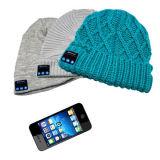 Wearable BT Knitted Music Cap, Built-in Headphones, Bluetooth, Wireless, Comfortable