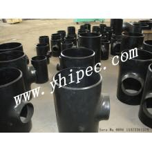 ASME A234 Wpb B16.9 Rohr-Fittings t-Stück reduziert