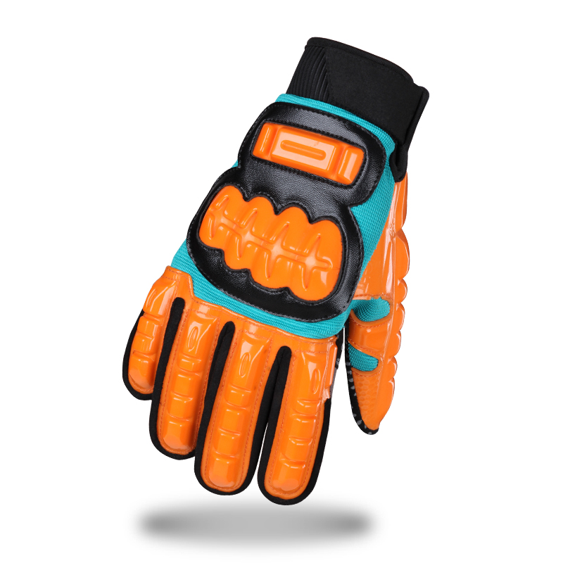 motorcycle full finger gloves for man