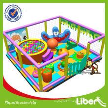 Aire de jeux couverte pour enfants à la mode 2012 LE-BY006