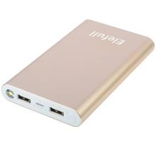 8000mAh 휴대용 성화 2 USB 포트 전원 은행