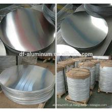 1050/1060/1100/3003 círculo de alumínio de alta qualidade